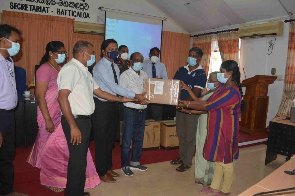 Donated an  equipment – BATH DRY(HEATING ONLY & HEATING WITH COOLING) -  Rs. 351,000.00